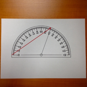 2. Print the file. (measure the red arrow and insure you have your 17cm)